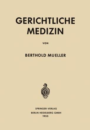 Gerichtliche Medizin