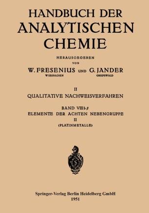 Elemente der Achten Nebengruppe