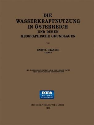 Die Wasserkraftnutzung in Österreich