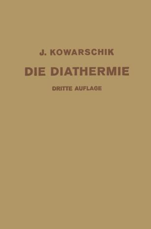 Die Diathermie