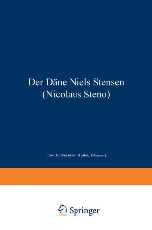 Der Däne Niels Stensen (Nicolaus Steno)