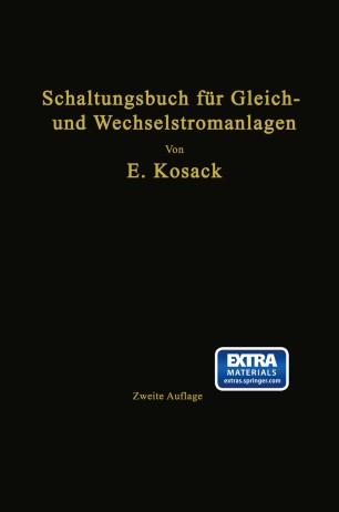 Schaltungsbuch für Gleich- und Wechselstromanlagen | SpringerLink