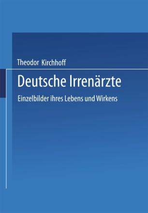 Deutsche Irrenärzte