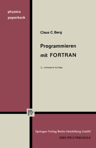 Programmieren mit FORTRAN