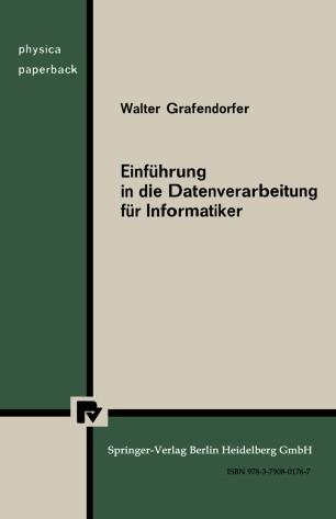 Einführung in die Datenverarbeitung für Informatiker