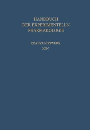 Erzeugung von Krankheitszuständen durch das Experiment