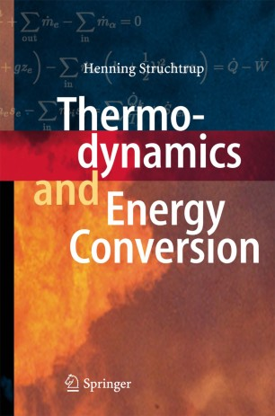 obálka Thermodynamics and Energy Conversion