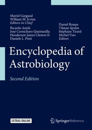 [Encyclopedia of Astrobiology]