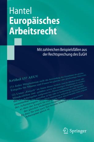 Europäisches Arbeitsrecht Springerlink