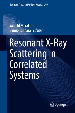 Resonant X-Ray Scattering in Correlated Systems :