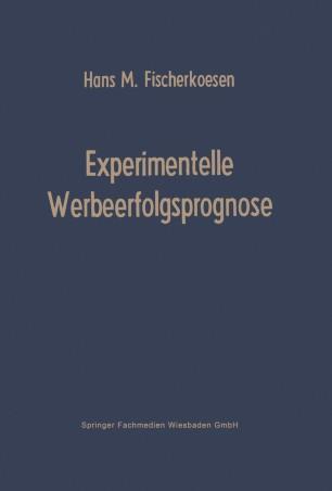Experimentelle Werbeerfolgsprognose