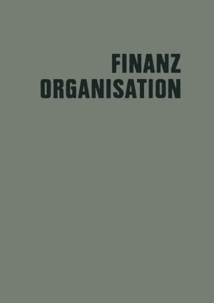 Finanzorganisation