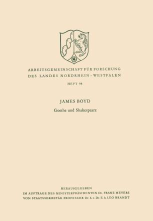 Goethe und Shakespeare