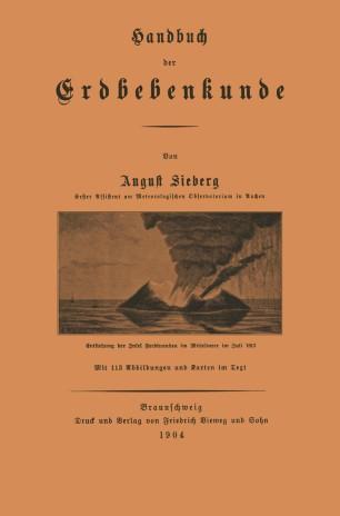 Handbuch der Erdbebenkunde