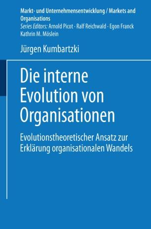 Die interne Evolution von Organisationen