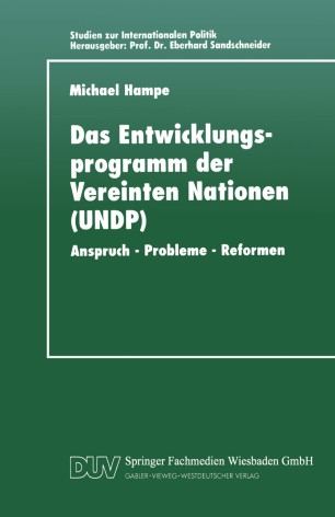 Das Entwicklungsprogramm der Vereinten Nationen (UNDP)