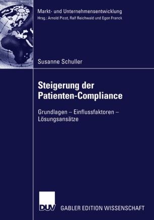 Steigerung der Patienten-Compliance