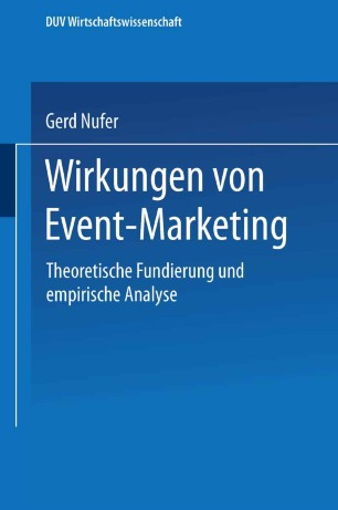 Wirkungen von Event-Marketing