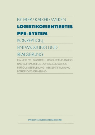 Logistikorientiertes PPS-System