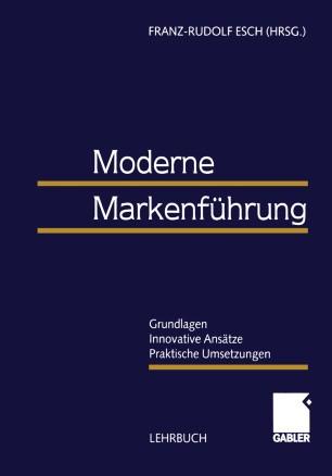 Moderne Markenführung