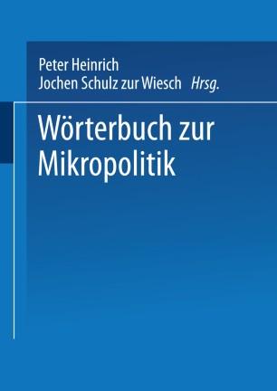 Wörterbuch der Mikropolitik
