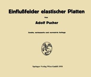 Einflußfelder elastischer Platten