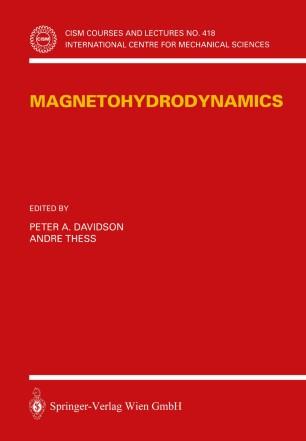 Magnetohydrodynamics | SpringerLink