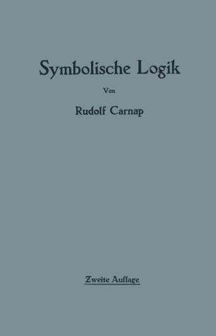 Einführung in die symbolische Logik