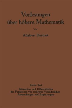 Vorlesungen über höhere Mathematik