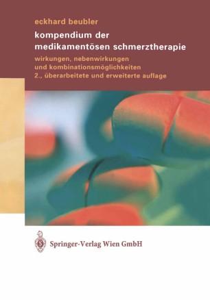 Kompendium der medikamentösen Schmerztherapie