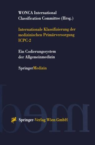 Internationale Klassifizierung der medizinischen Primärversorgung ICPC-2