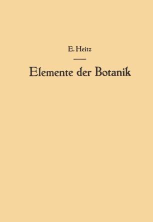 Elemente der Botanik