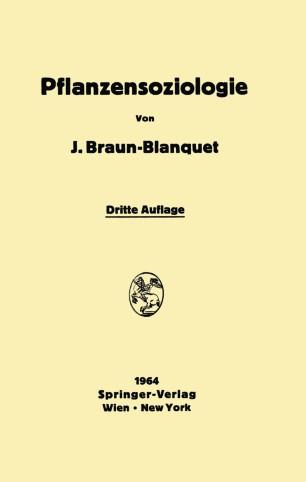 Pflanzensoziologie