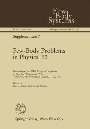 Few-Body Problems in Physics '93