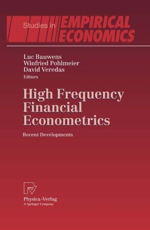 High-Frequency Financial Econometrics
