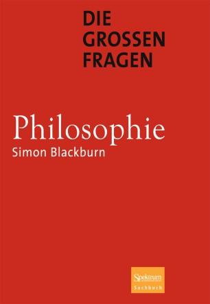 Der Niedergang der modernen Philosophie