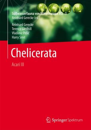 Süßwasserfauna von Mitteleuropa, Bd. 7/2-3 Chelicerata