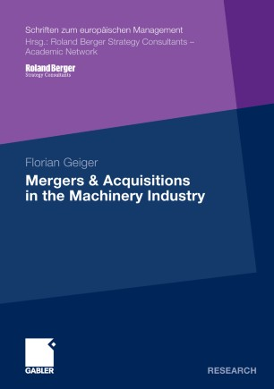 Mergers & Acquisitions in the Machinery Industry