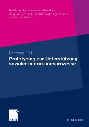 Prototyping zur Unterstützung sozialer Interaktionsprozesse