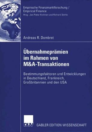 Übernahmeprämien im Rahmen von M&A-Transaktionen