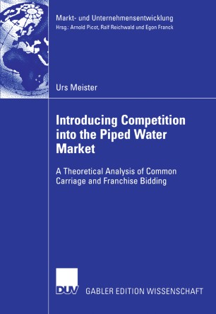 Introducing Competition into the Piped Water Market