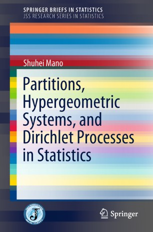 Partitions, Hypergeometric Systems, and Dirichlet Processes in Statistics