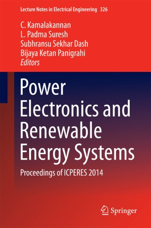 Power Electronics and Renewable Energy Systems | SpringerLink