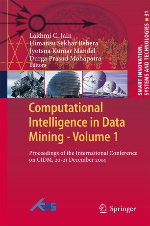 Computational Intelligence in Data Mining - Volume 1