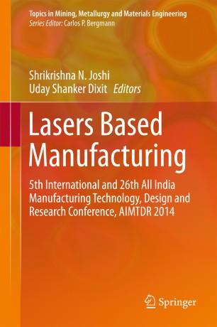 Lasers Based Manufacturing   SpringerLink
