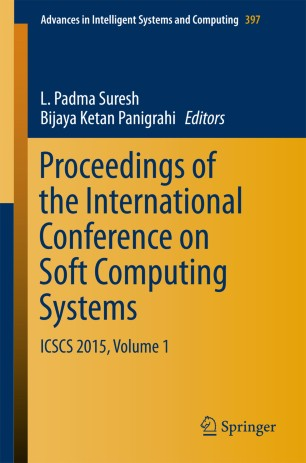 Proceedings of the International Conference on Soft Computing Systems