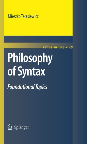 Philosophy of Syntax