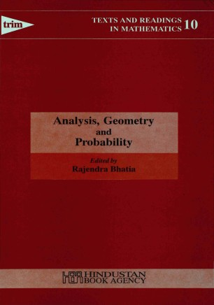 Analysis, Geometry and Probability