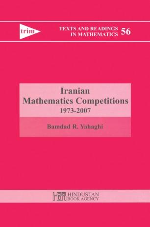 Iranian Mathematics Competitions 1973–2007