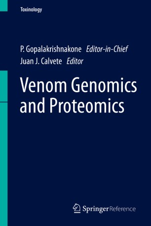 Venom Genomics and Proteomics :